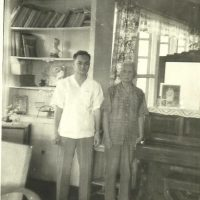 Dr. Arturo Ramirez with his father