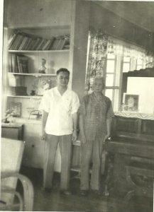Dr. Arturo Ramirez with his father